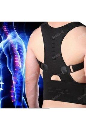 Ankaflex Manyetik Dik Durmak Için Korse Ortopedik Kamburluk Önleyici Bayan Erkek Dik Duruş Bel Sırt Korsesi 1