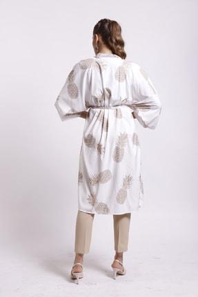 Moylin 2809 Desenli Kimono 4
