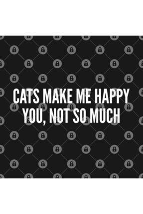 TatFast Cute - Cats Make Me Happy You, Not So Much - Funny Cute Kupa 2
