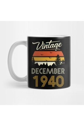 TatFast 1940 - Vintage December Birthday Gift Kupa 0