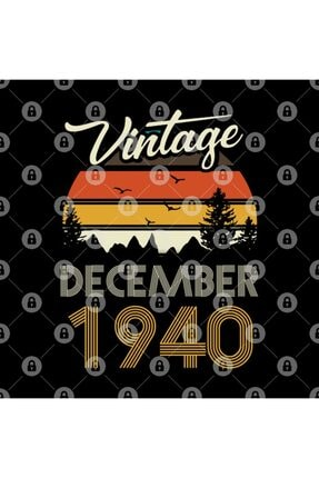 TatFast 1940 - Vintage December Birthday Gift Kupa 2
