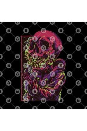 TatFast Trippy Dead Skull Design Kupa 2