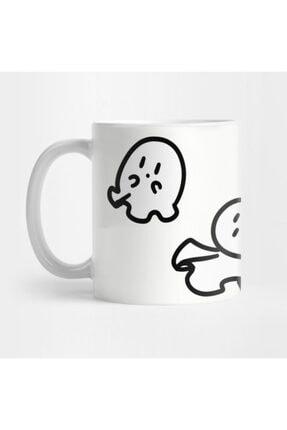 TatFast Cute Tiny Ghosts Kupa 0