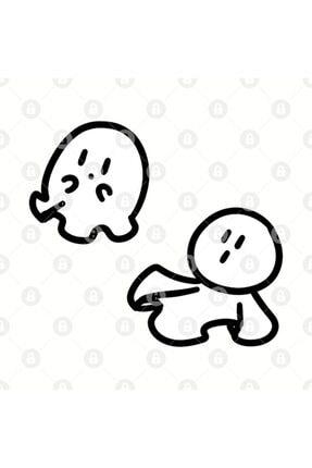 TatFast Cute Tiny Ghosts Kupa 2