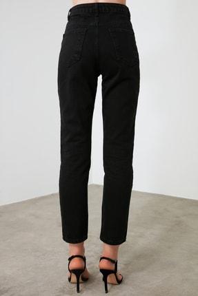 TRENDYOLMİLLA Siyah Yüksek Bel Bootcut Jeans TWOAW21JE0151 3
