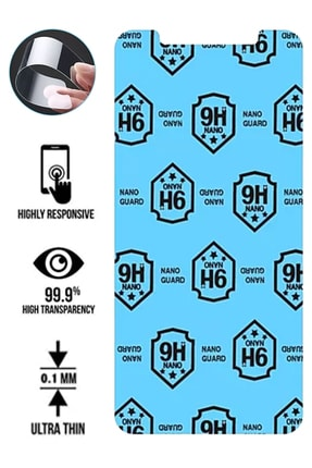cupcase Huawei Honor 9 Lite Kılıf Esnek Silikon Kapak Ilkbahar Desenli + Nano Cam 1
