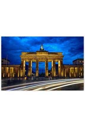 Cakatablo Ahşap Tablo Berlin Brandenburg Kapısı -35-50 Cm 0