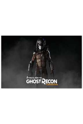 Cakatablo Ahşap Tablo Predator Ghost Recon Wildlands -35-50 Cm 0