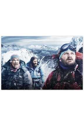 Cakatablo Ahşap Tablo Everest Kar Fırtınası Yaklaşıyor -50-70 Cm 0