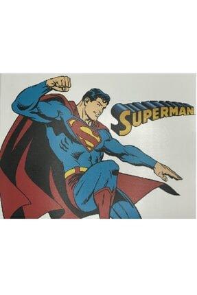 Superman Desenli 12 Adet Amerikan Servisi cocuk-amerikan-servisi