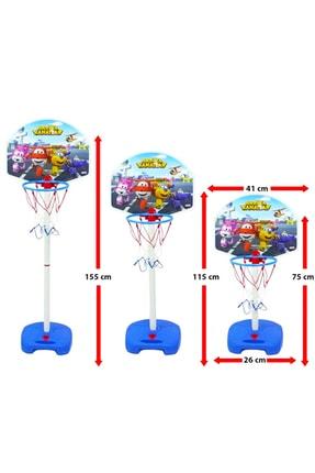 DEDE Harika Kanatlar Ayaklı Ayarlanabilir Büyük Boy Basket Potası 03541 1