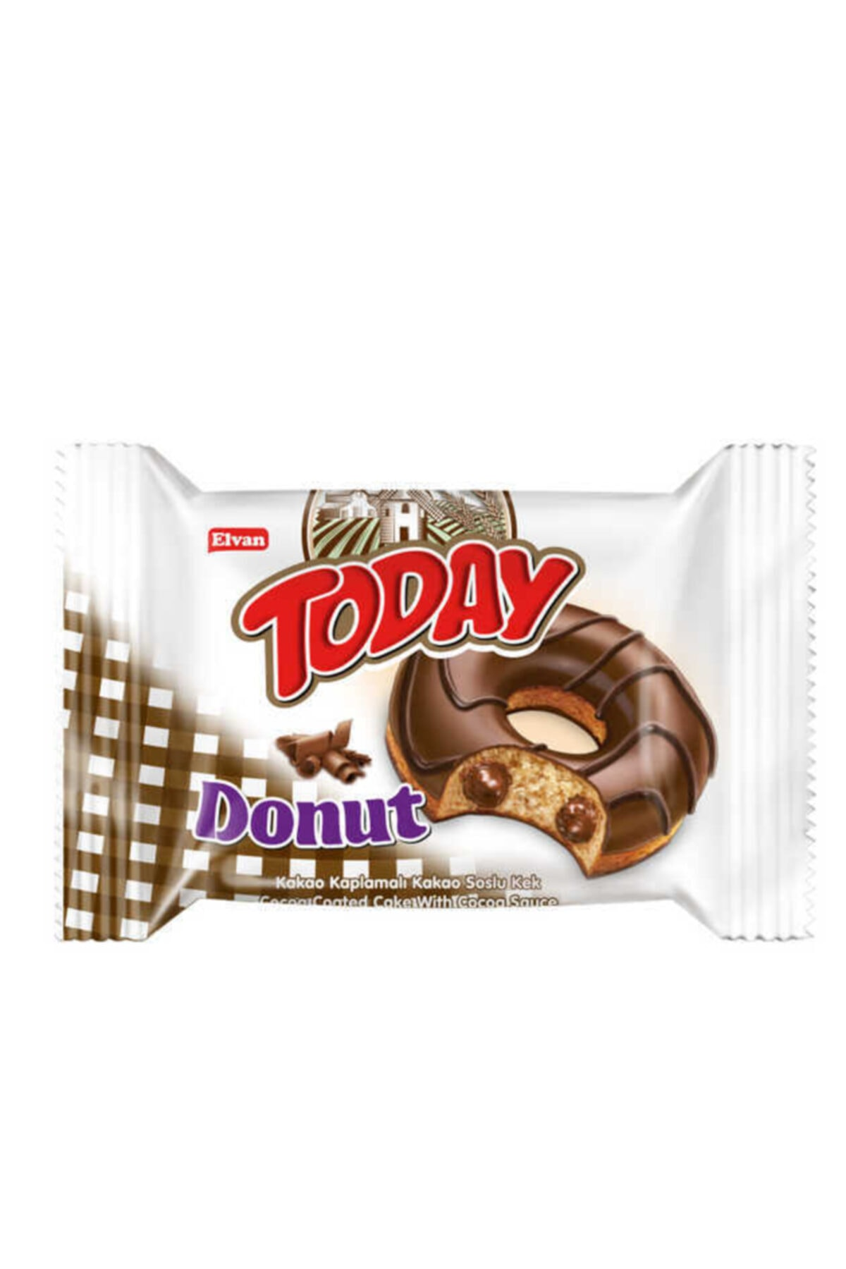 Today Donut Kek Kakaolu 50 gr. 24 Adet (1 Kutu)