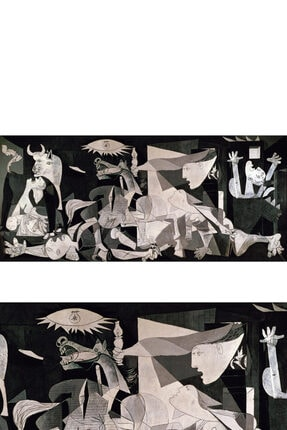 ColorVision Pablo Picasso Guernica Kanvas Tablo 50x100 Cm 1