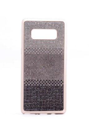 Dijimedia Galaxy Note 8 Kılıf Mat Lazer Taşlı Silikon 1