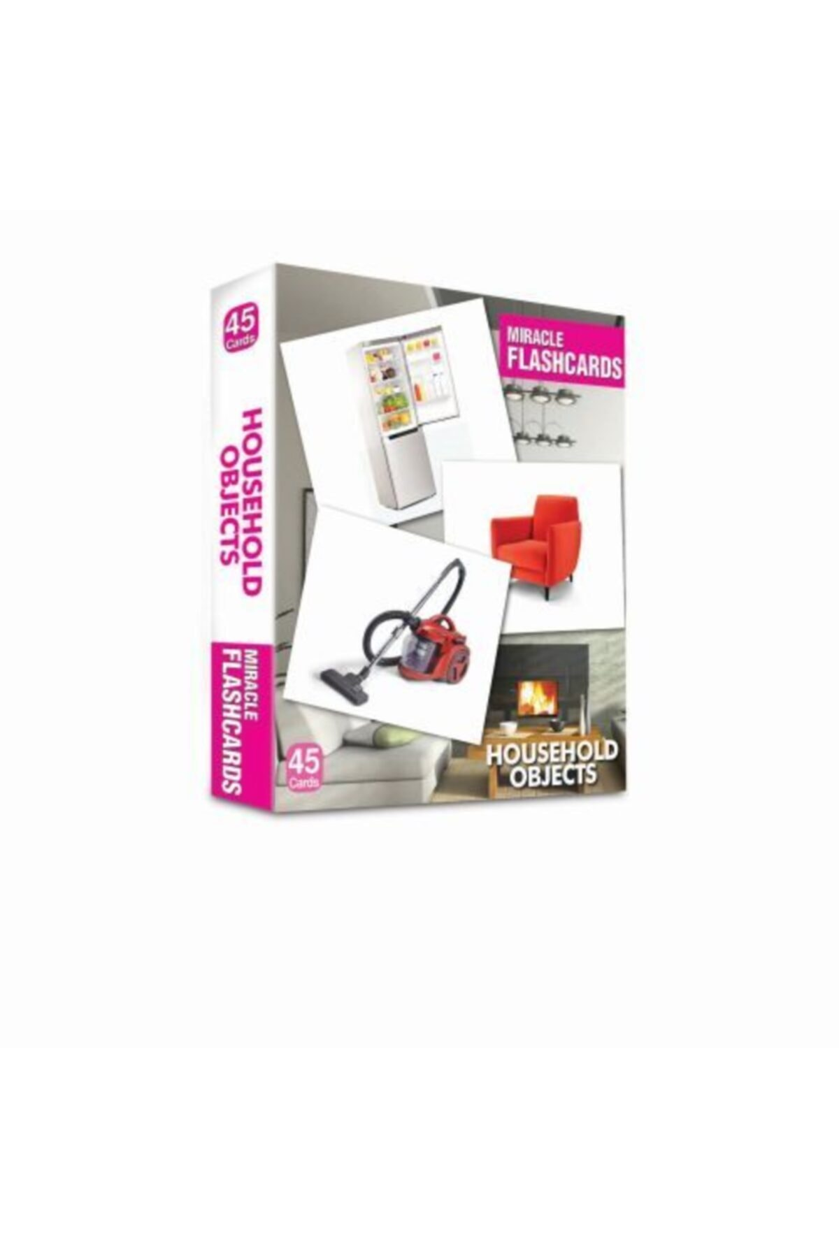 Miracle Flashcards Household Objects 45 Cards