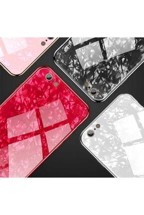 Zore Apple Iphone 6 Plus Kılıf Marbel Cam Silikon 4