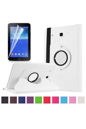 Zore Galaxy Tab 3 Lite 7.0 T110 Dönebilen Standlı Kılıf 2
