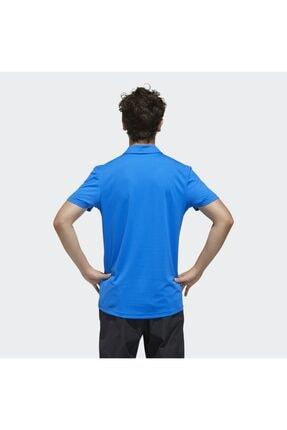 adidas Erkek Mavi Spor T-Shirt 1