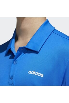 adidas Erkek Mavi Spor T-Shirt 4