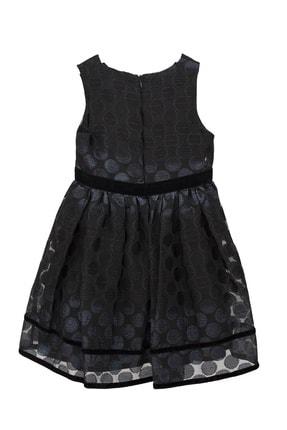 Goose Kız Çocuk Siyah Sım Puanlı Elbise Ceket Tk 2