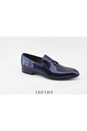 LUCIANO BELLINI Erkek Siyah Bambi Klasik Ayakkabısı 108501 1