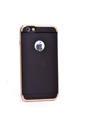 Zore Apple Iphone 6 Kılıf Ince Karbon Mono Silikon Kapak - 0