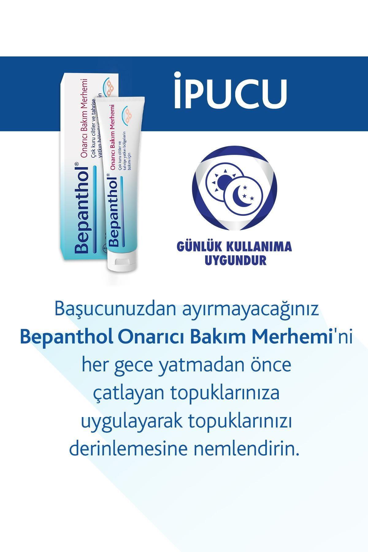 Bepanthol Onarıcı Bakım Merhemi 30 g + Cilt Kremi 30 G 4