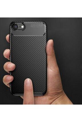 Kilifplus Apple Iphone 8 Kılıf Carbon Serisi Parmak Izi Bırakmayan Silikon - Lacivert 4