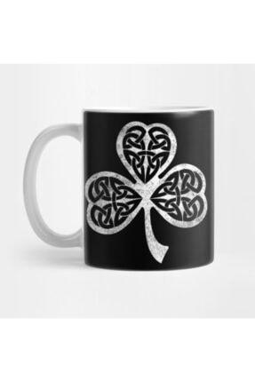 TatFast Irish Celtic Shamrock - Celtic Knot Shamrock Tee Kupa 0