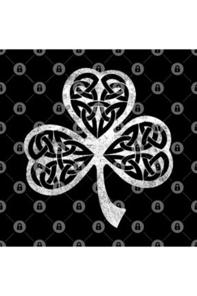TatFast Irish Celtic Shamrock - Celtic Knot Shamrock Tee Kupa 2