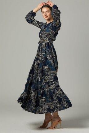 Nassah Elbise-lacivert Us-0s5055-17 0