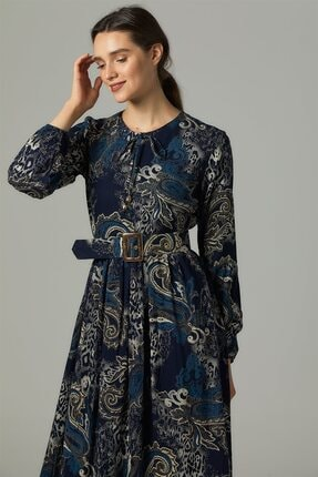 Nassah Elbise-lacivert Us-0s5055-17 1