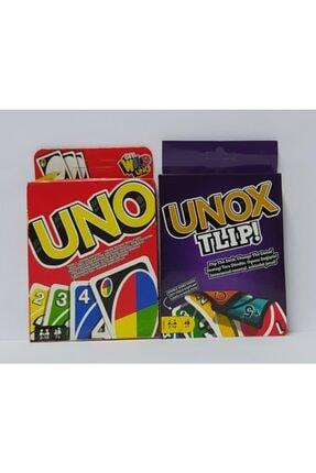 Brother Toys Uno - Unox Tlip Oyun Kartları Ve Solo Test Zeka Testi 3'lü Oyun Seti 1
