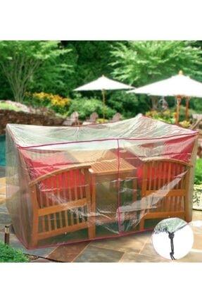 Sole Bahçe Oturma Grubu Koruma Örtüsü - Ariel:200x145x80cm 3