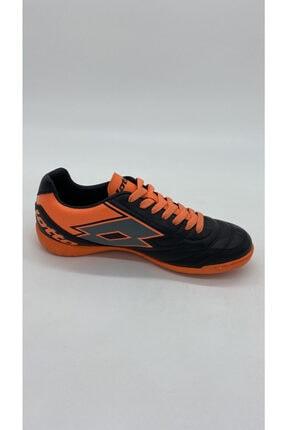 Lotto Erkek Sıyah Turuncu Futsal Spor Ayakkabı R5553 0