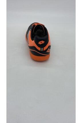 Lotto Erkek Sıyah Turuncu Futsal Spor Ayakkabı R5553 2