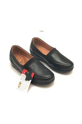 Polaris 103165.Z Siyah Kadın Comfort Ayakkabı 100555578 4