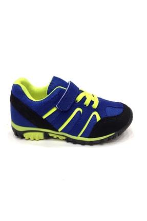 Erkek Çocuk Mavi Trekking Spor Ayakkabı 26-35 Numara 24266pft