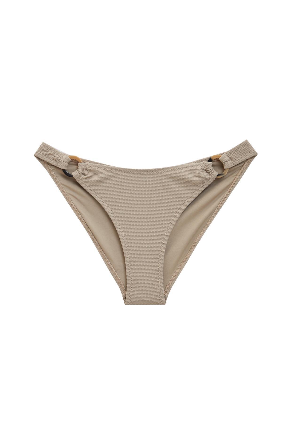 Defacto Kadın Grey Yanları İpli Bikini Altı S4048AZ20SM 0