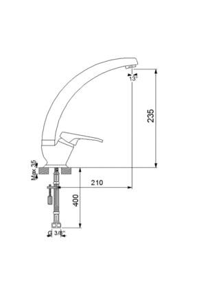 Newarc Smart Uzun Borulu Eviye Bataryası 142731u 1