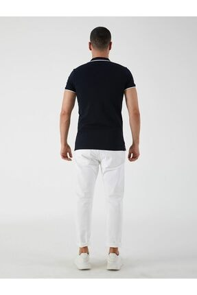 Ltb Erkek Lacivert Rıgosı Polo Yaka T-shirt 3