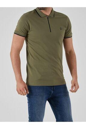 Ltb Erkek  Yeşil Polo Yaka T-Shirt 0122084075609440000 0
