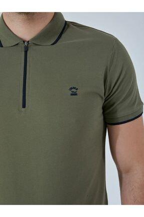 Ltb Erkek  Yeşil Polo Yaka T-Shirt 0122084075609440000 1