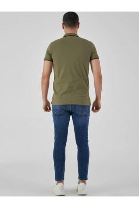 Ltb Erkek  Yeşil Polo Yaka T-Shirt 0122084075609440000 3
