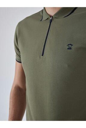 Ltb Erkek  Yeşil Polo Yaka T-Shirt 0122084075609440000 4