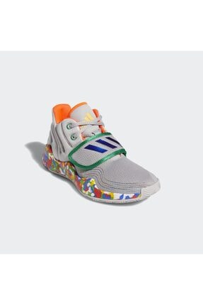 adidas Kadın Gri Deep Threat Basketbol Ayakkabısı 1