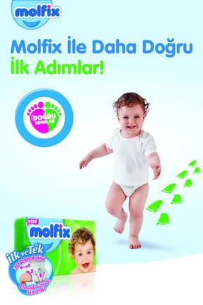 Molfix Bebek Bezi 5 Beden Junior Aylık Fırsat Paketi 120 Adet + Evony Maske 10'lu Hediyeli 2
