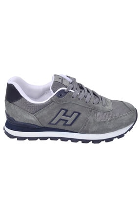 Hammer Jack Erkek Gri Peru Nubuk Sneaker 102 19250 2