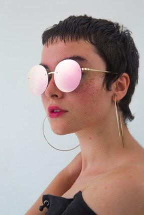 Bilge Karga Kadın Pembe Kylie Pink Mirror Güneş Gözlüğü 0