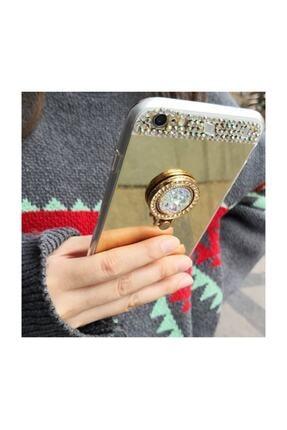 Ksyaccessories Iphone 7 Plus Aynalı Ve Taşlı Selfie Yüzüklü Telefon Kılıfı 1
